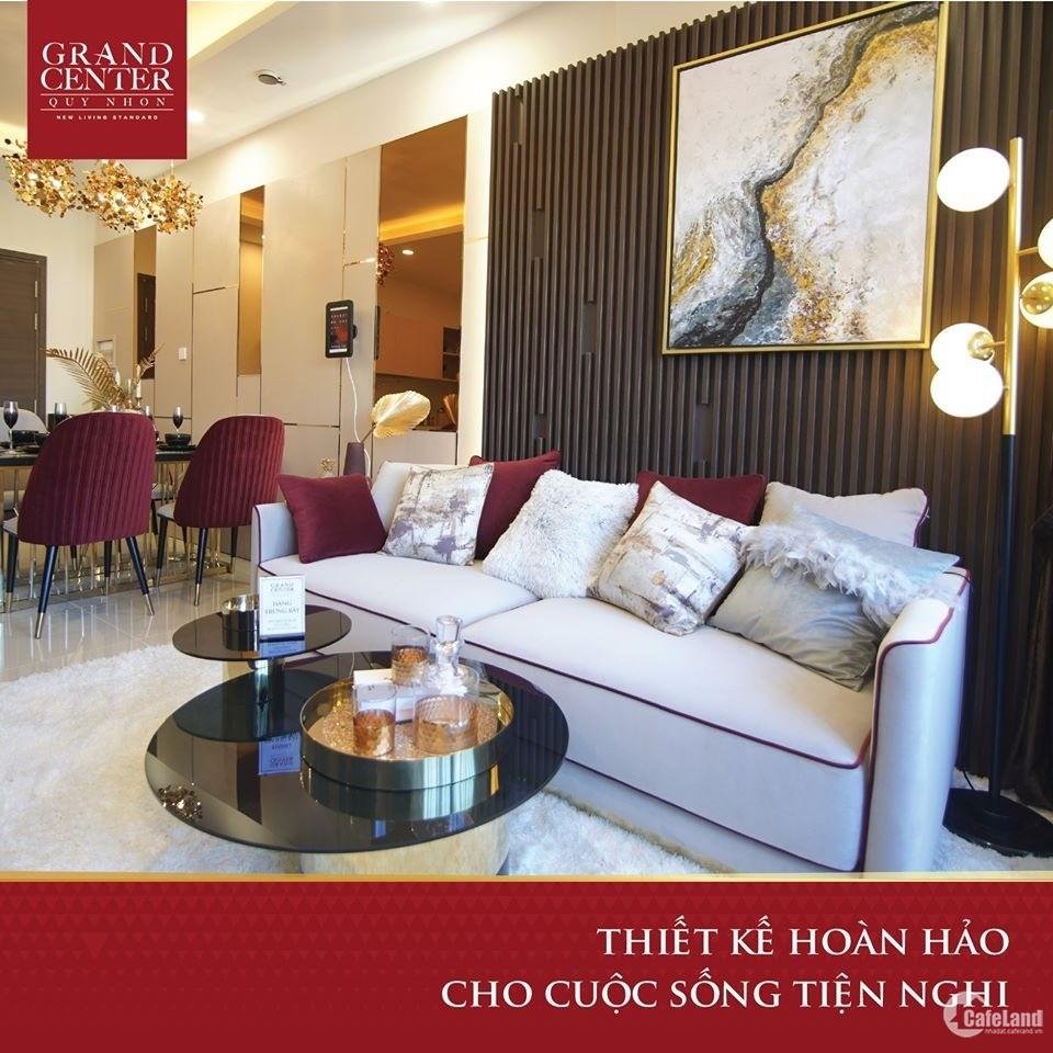 Chiết khấu 11% cho căn hộ Grand Center Quy Nhon chỉ trong tháng 3/2021