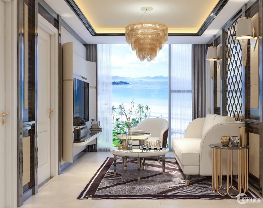 Cần bán gấp căn hộ nội thất cao cấp tầng 26 3PN 120,87m2 view biển Mỹ Khê