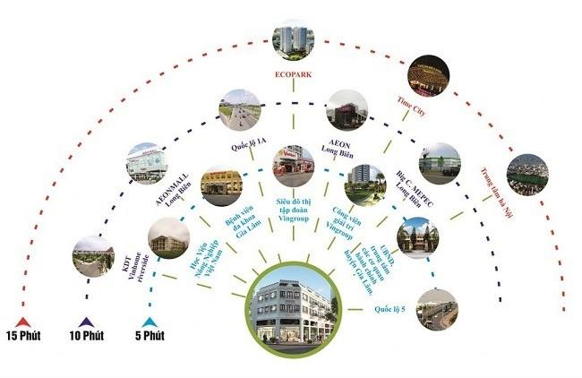 Bán Gấp Căn Shophouse 90m2 Tại Trung tâm Trâu Quỳ, Gia Lâm, Hà Nội