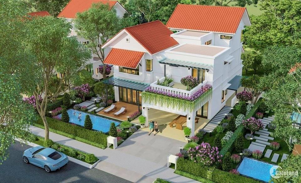 Bán biệt thự Xanh Villas - có hỗ trợ vay, áp dụng chiết khấu 11%, tặng 100 triệu