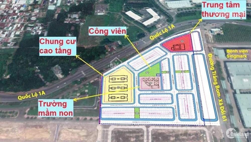 Còn 1-2 lô giá gốc mua trực tiếp từ CĐT giá F0, khu đô thị Bàu Xéo