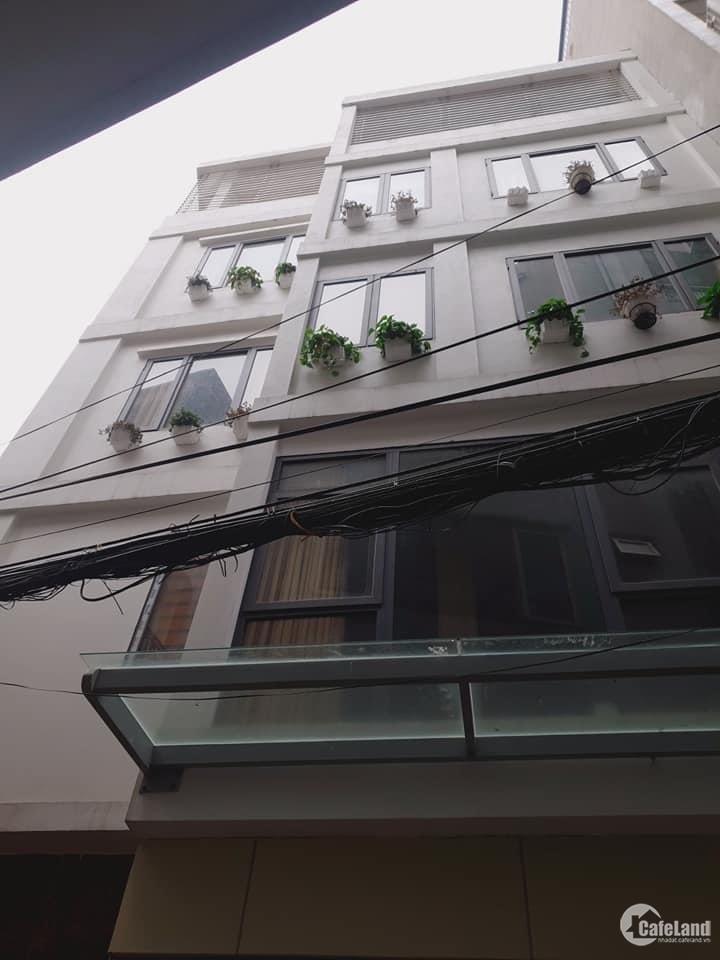 Bán nhà 5 tầng 45m, mt 8,2, ô tô, kd đỉnh, sđcc, phố dịch vọng hậu, cầu giấy