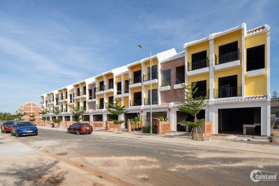 Khu đô thị Nam Hội An là dự án nhà phố hiện đại, kiểu mẫu đô thị xanh