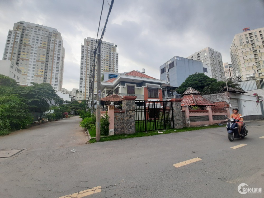 Bán đất Mặt tiền 61 Quốc Hương, P.Thảo Điền, Q 2, GPXD 2 Hầm 10 tầng, Giá 125ty