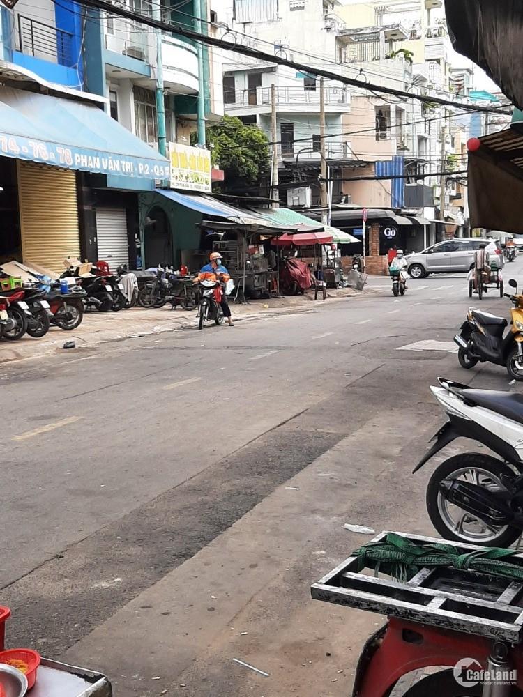 (HOT )Nhà giá rẻ Phan Văn Trị p2 Q5 (5,8x10,15m) 2 lầu, st. Giá 10,3 tỷ