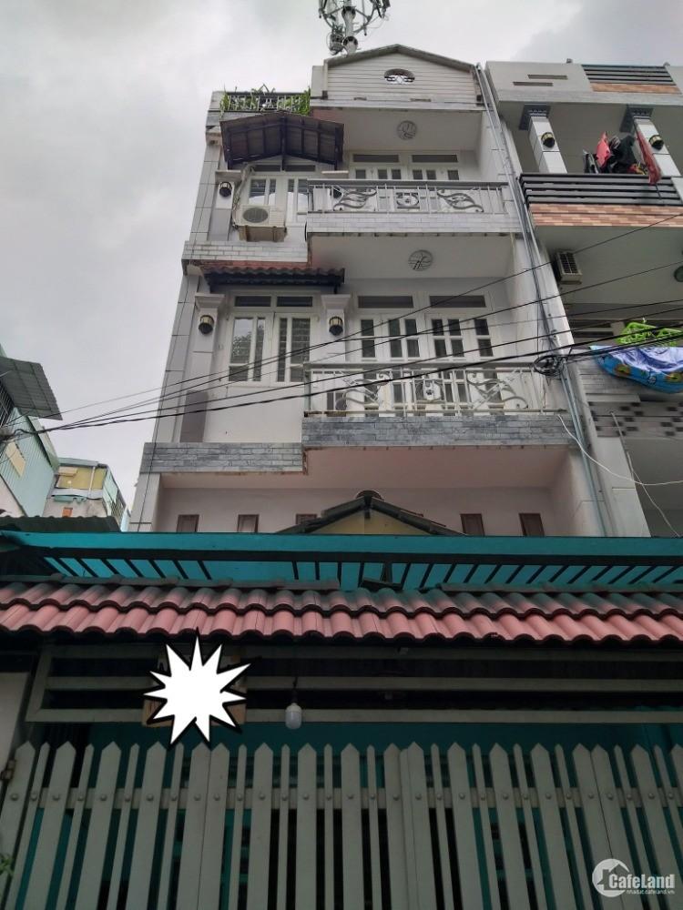 Chính chủ bán nhà hẻm 176 Huỳnh Văn Nghệ 4.5x15m, 5 tầng HXH 65m2 chỉ 5,4 tỷ