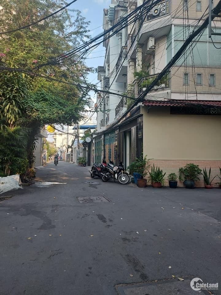 Bán nhà 4 tâng Nguyễn Văn Lượng,P.17:lô góc,HXH thông,ngang 7m chỉ 4.95 tỷ
