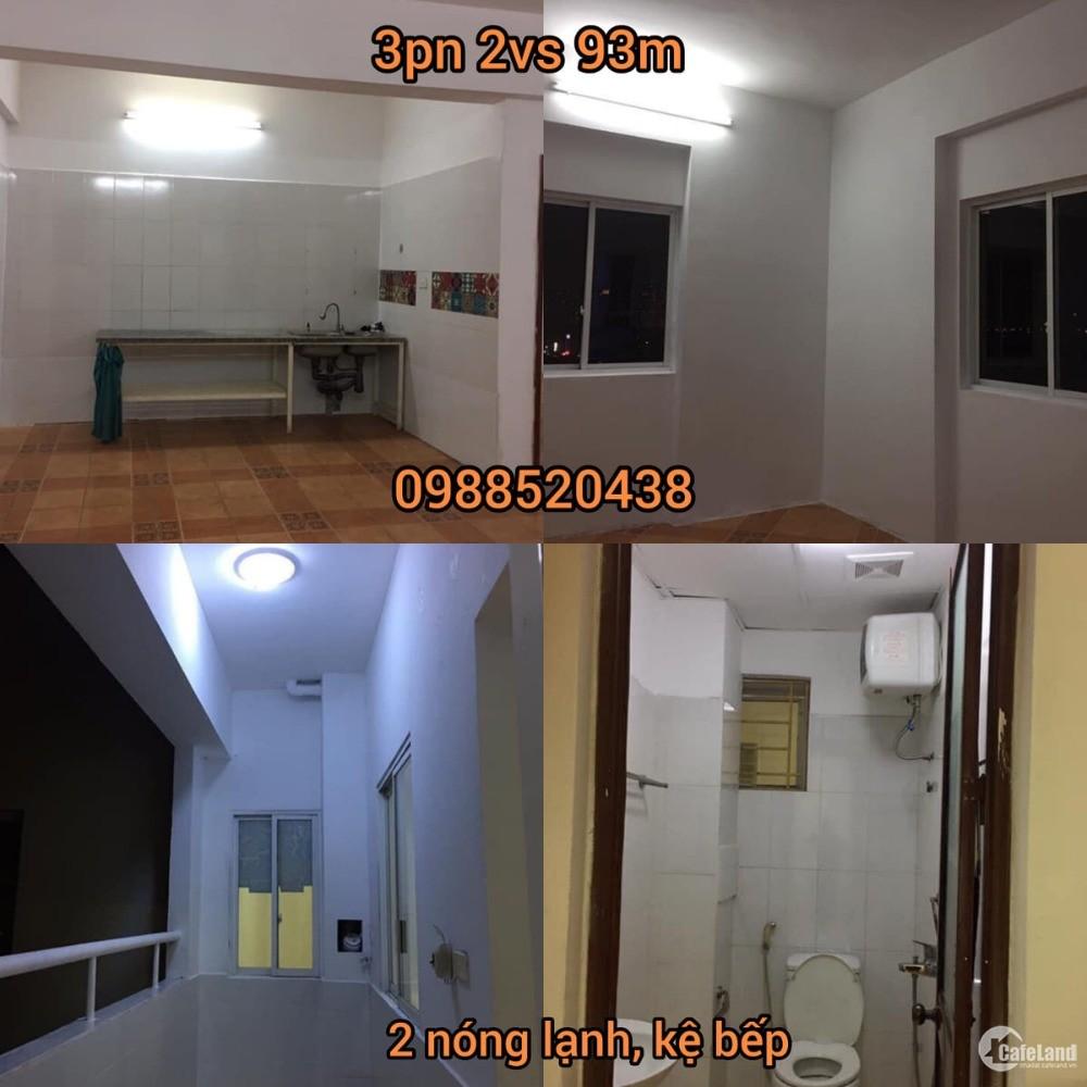 Căn hộ 3PN ở 282 Lĩnh Nam cho gia đình hoặc văn phòng 6 triệu/tháng