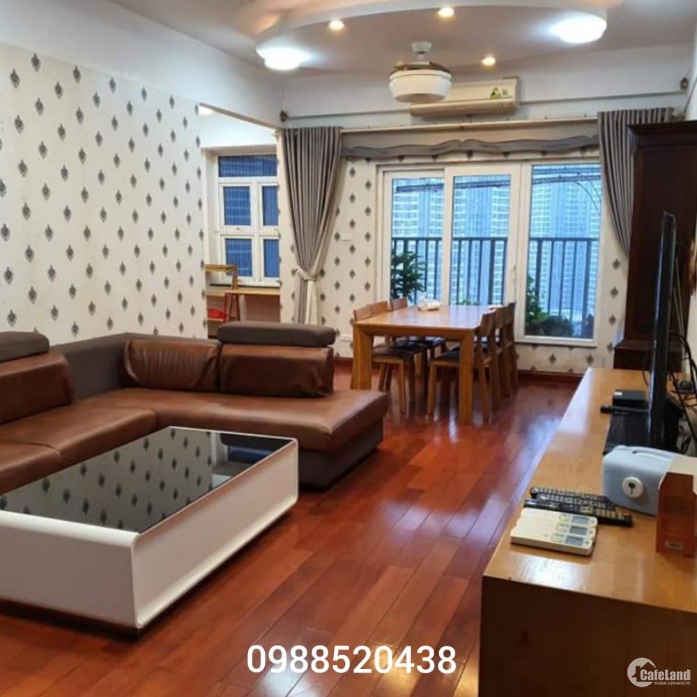 Cho thuê căn hộ 3PN FULL đồ 130m ở 52 Lĩnh Nam cho gia đình