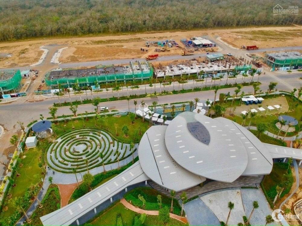 Đất sổ đỏ cạnh Sân Bay Long Thành, giá gốc CĐT, CK lên đến 120tr/nền