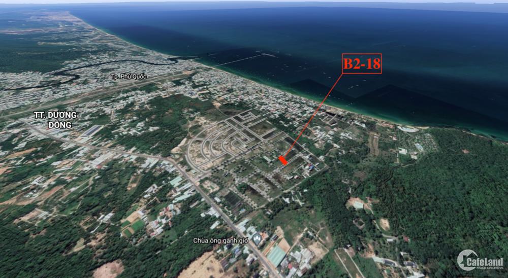 Bán nền khu tái định cư 67.5ha Phú Quốc / B2 - 18 giá hợp lý, 6 x 20.5m (123m2)