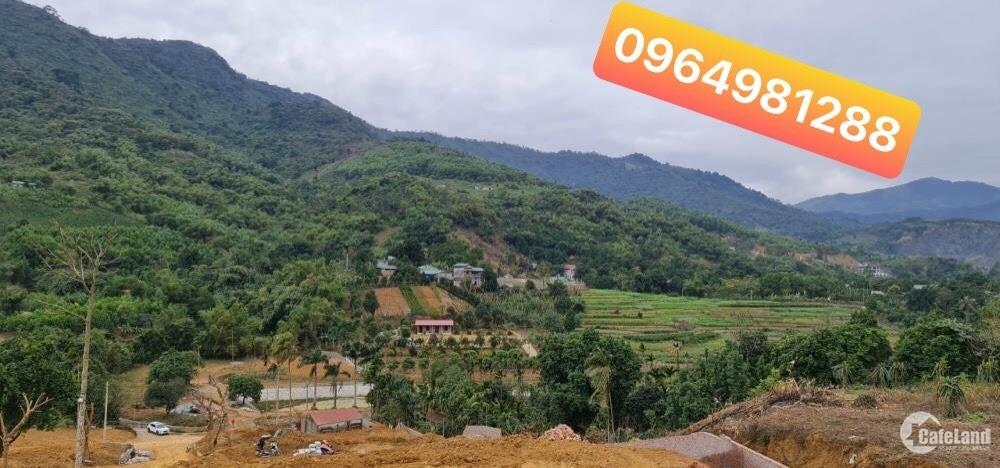 Bán đất mặt trục Phú Mãn rộng 12m, huyện Quốc Oai, HN giá 4tr6/m2.