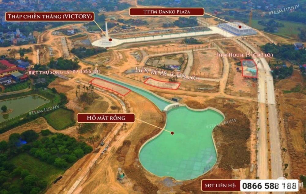 Vì sao Danko City, Thái Nguyên lọt top 10 dự án nhà ở và đô thị tiềm năng đầu tư