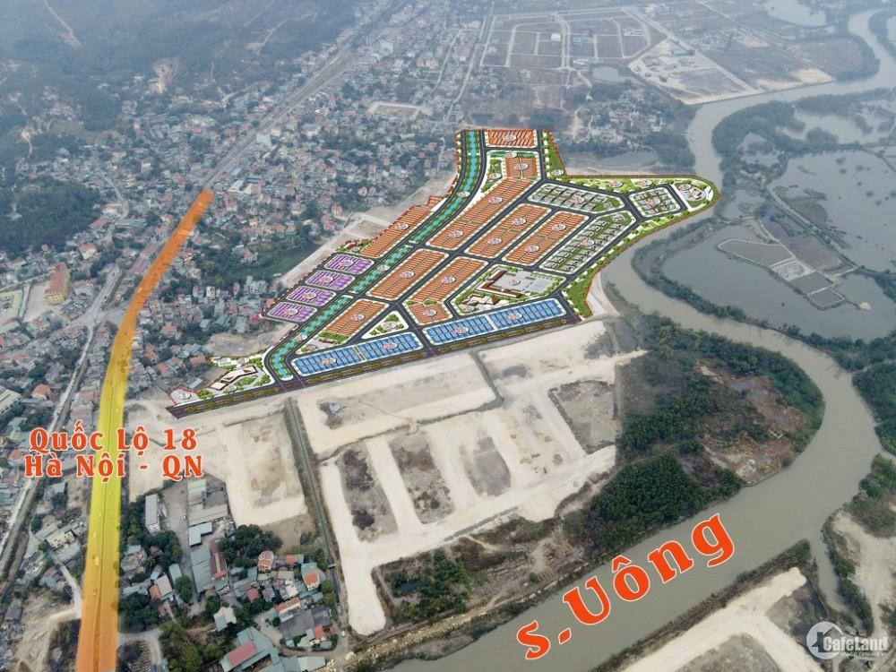 Đất nền Feli City Uông Bí, 1 tỷ/lô diện tích 80 - 150 m2. Liên hệ : 0965 86 0122
