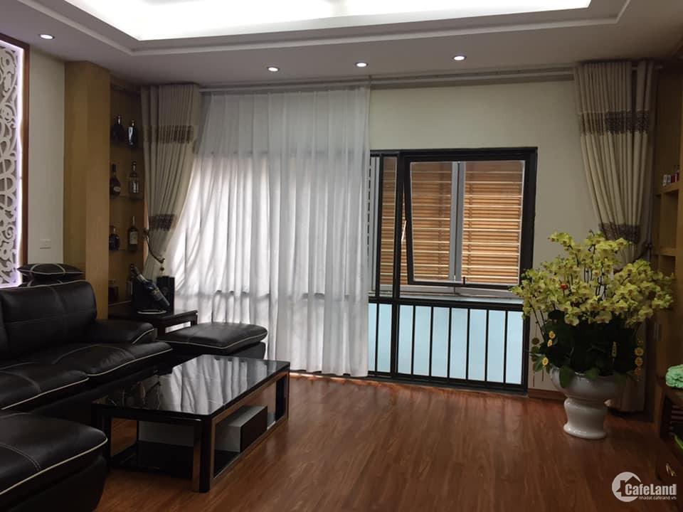 Nhà đep Hào Nam, TT Đống Đa. DT 55m2, MT 5.29m, 5 tầng hiện đại, ô tô vào nhà.