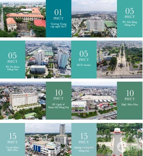 Mở bán dự án căn hộ Biên Hòa Universe Complex thanh toán chỉ từ 320tr, CK 22%