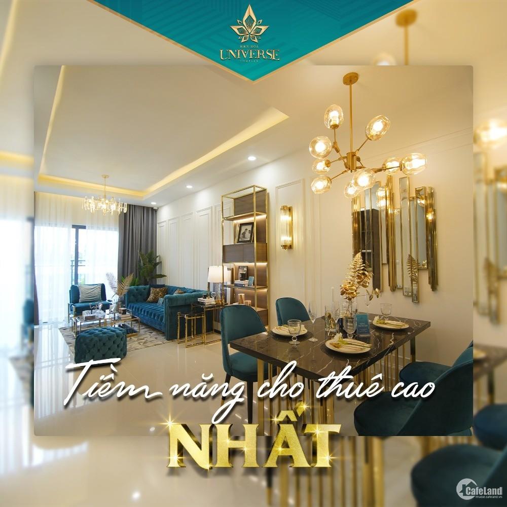 Căn hộ cao cấp đầu tiên tại tành phố Biên Hoà