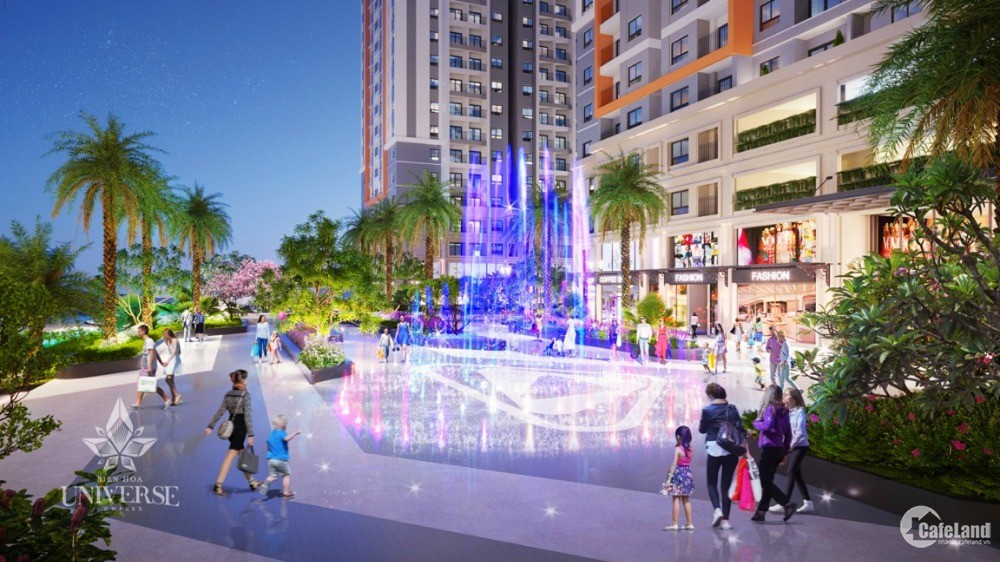 Căn hộ Biên Hoà gần cầu Sập mở bán đợt 1, Ưu đãi 3% đến 18%, nội thất cao cấp