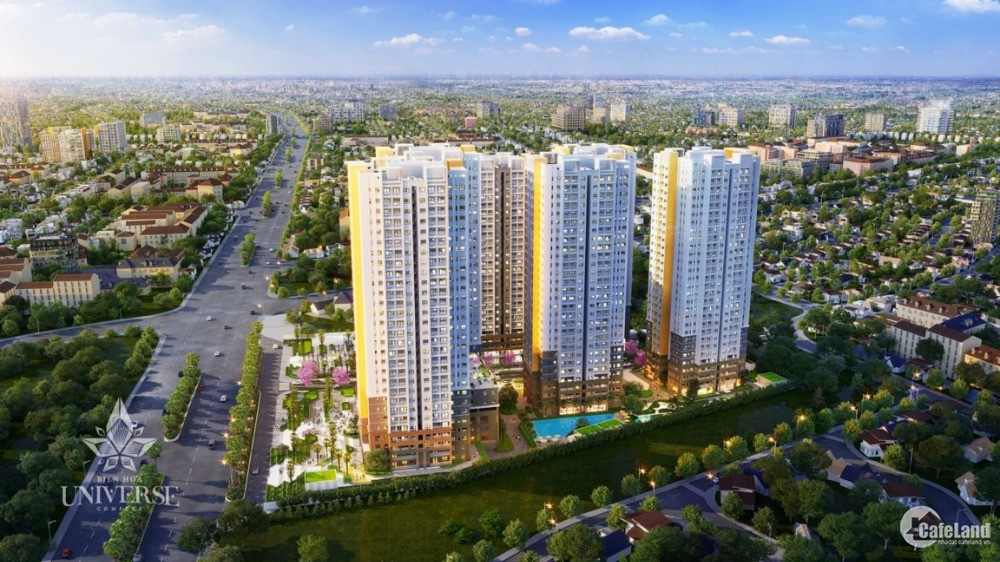 Nhà MT đường QL1A, Biên Hoà, Cách KCN Amata 1km, 74 m2 giá 2,3 tỷ