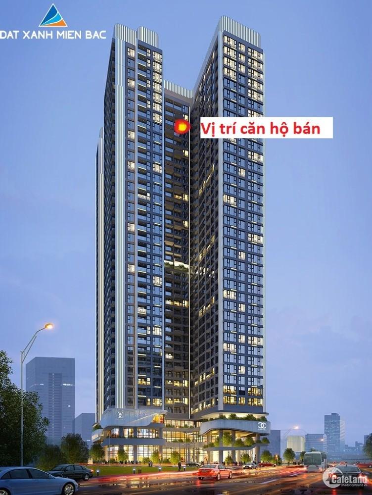 Căn hộ chung cư cao cấp 61m2, 2PN Hoàng Huy Sở Dầu