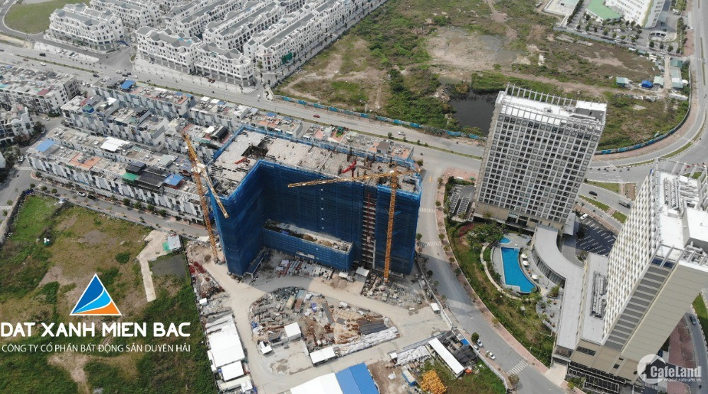 Căn hộ hạng A 1PN 40.9 m2 trung tâm quận Lê Chân
