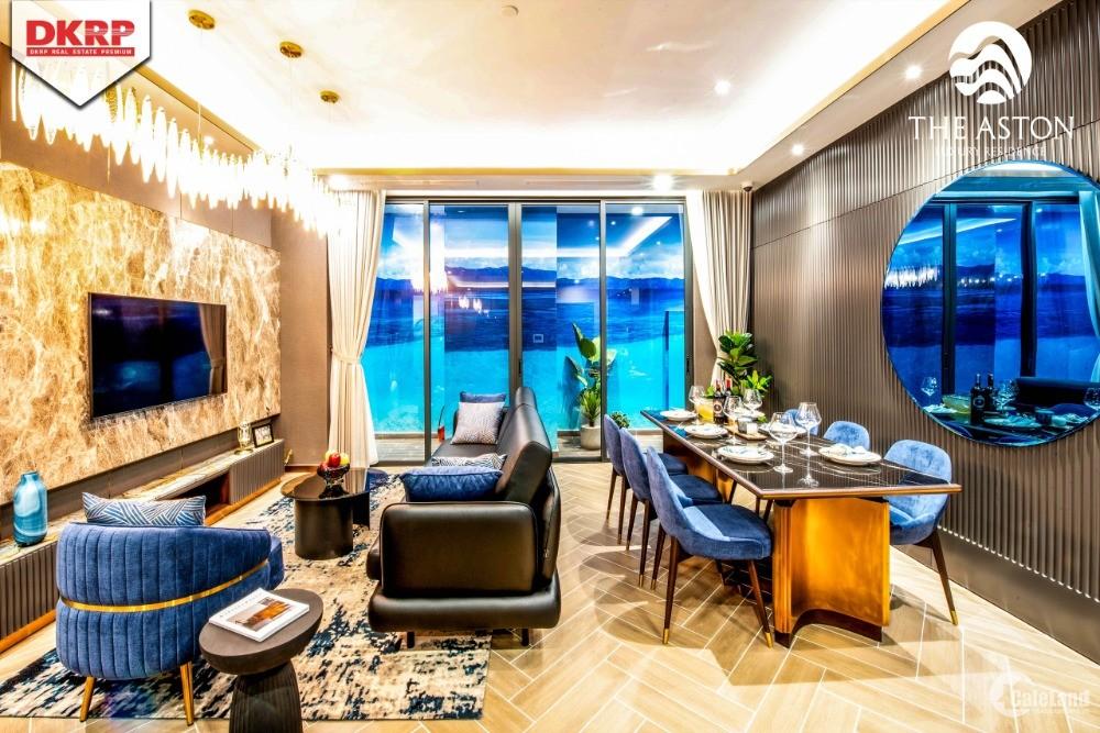 Với 210tr nhận ngay căn hộ CC The Aston view biển sở hữu lâu dài tại Nha Trang