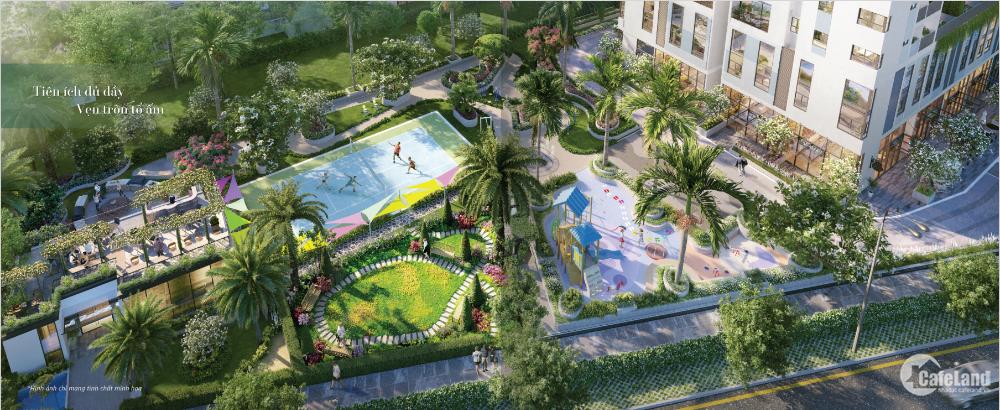 Căn hộ Duplex Q9 112m2 có sân vườn giá chỉ 3.5 tỷ, ký HĐMB trực tiếp với CĐT