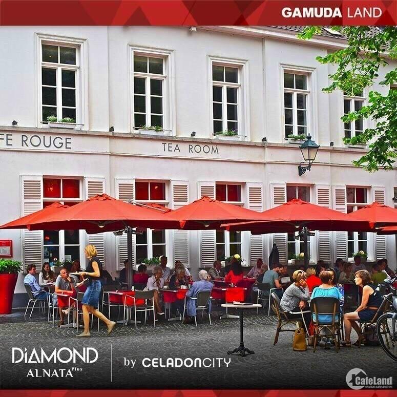 CĂN 85M2 KHU DIAMOND ALANTA - VIEW PHỐ ĐI BỘ 4TY3