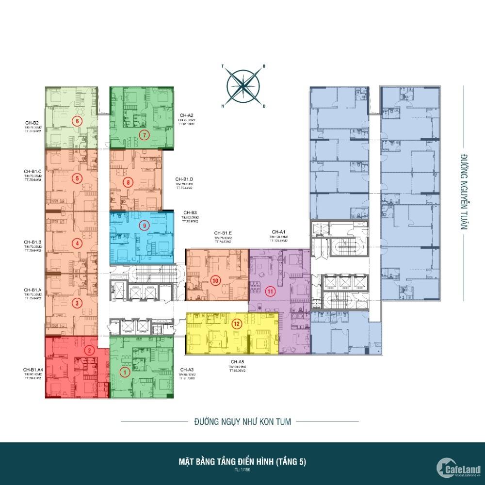 CĐT mở bán căn hộ CCCC Harmony Square chỉ từ 35tr/m2 + chiết khấu cao + quà tặng