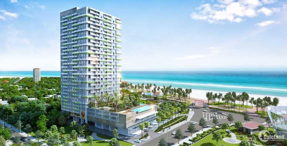 Căn góc 1PN 55m2 View trực diện biển Thùy Vân, Giá CĐT thanh toán chậm 12 tháng