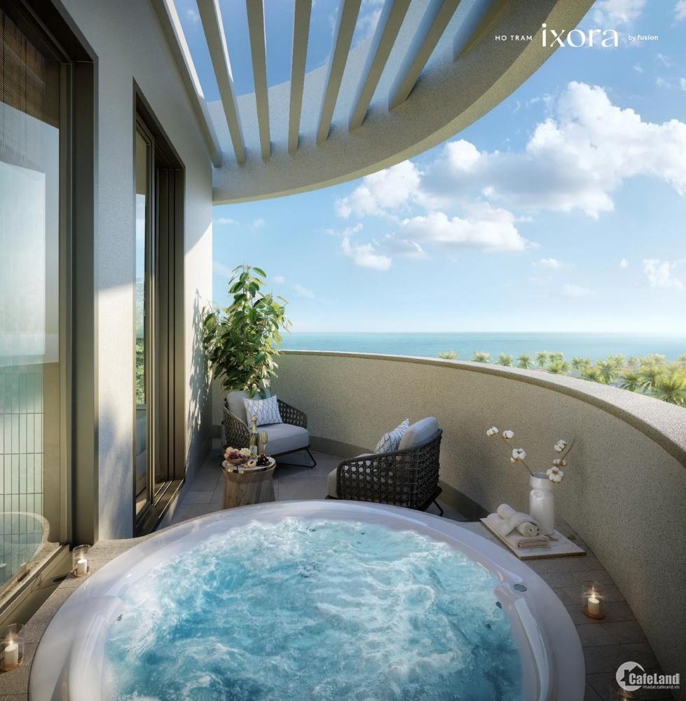 Penthouse nghỉ dưỡng view 360 tới Biển, sân golf, có Casino tại Hồ Tràm 80tr/m2