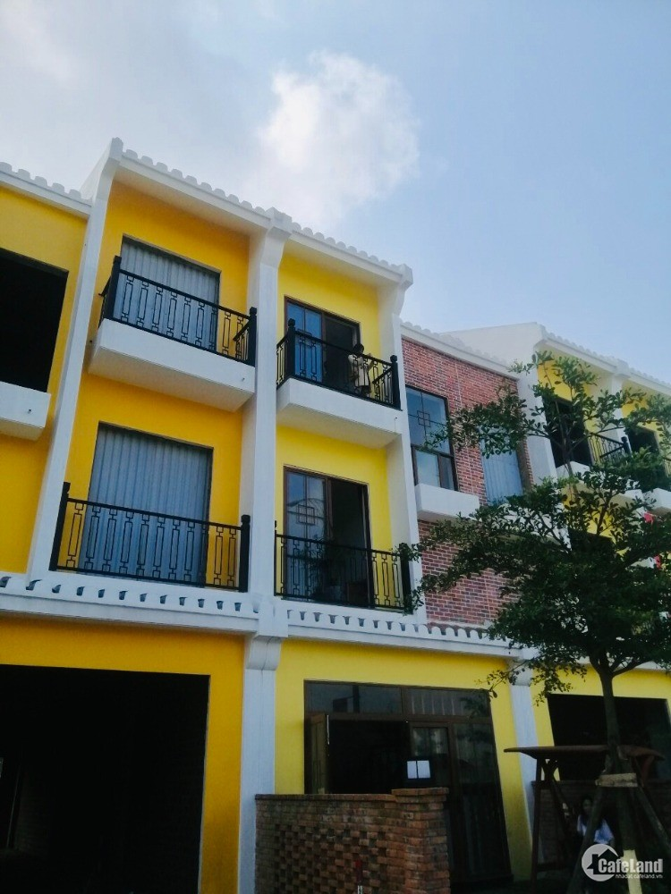 Sở hữu nhà phố VEN SÔNG THU BỒN gần VINPEARL