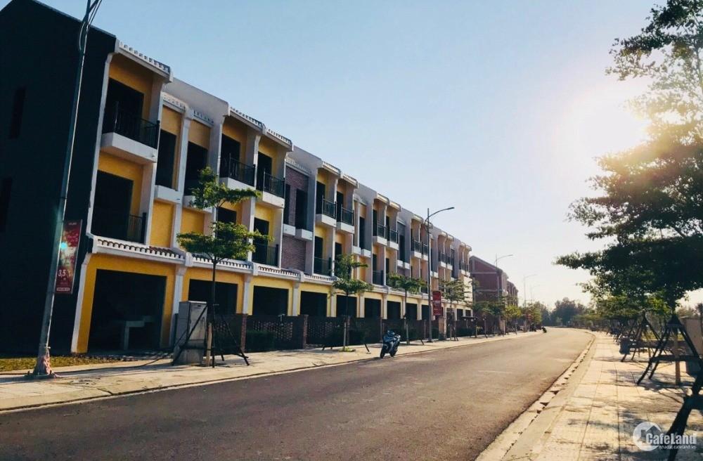 Nam Hội An city- Phố Tây giữa lòng Di sản- Nhà phố 3 tầng . Đã có Sổ