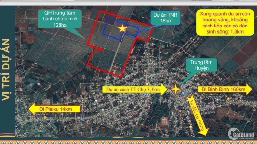 Đất nền khu đô thị, Trung tâm hành chính mới TNR Stars Dak Doa