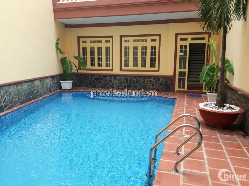 Bán biệt thự hồ bơi Q1, mặt tiền Nguyễn Thị Minh Khai, 3 tầng +  sân thượng