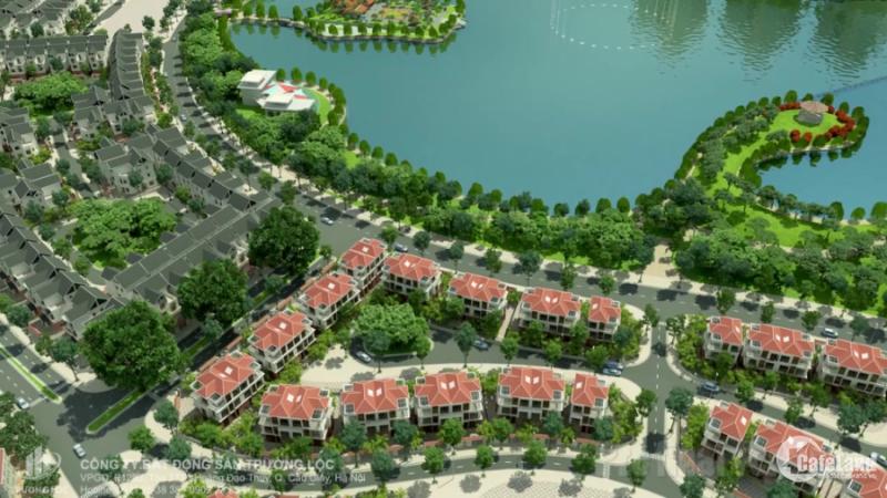 Gia đình cần bán căn biệt thự tại KĐT Thành Phố Giao Lưu