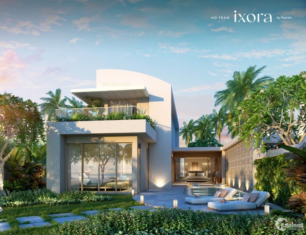 Biệt thự biển Ixora Hồ Tràm Strip mở bán giá chỉ từ 13,5 tỷ. LH: 0936622365