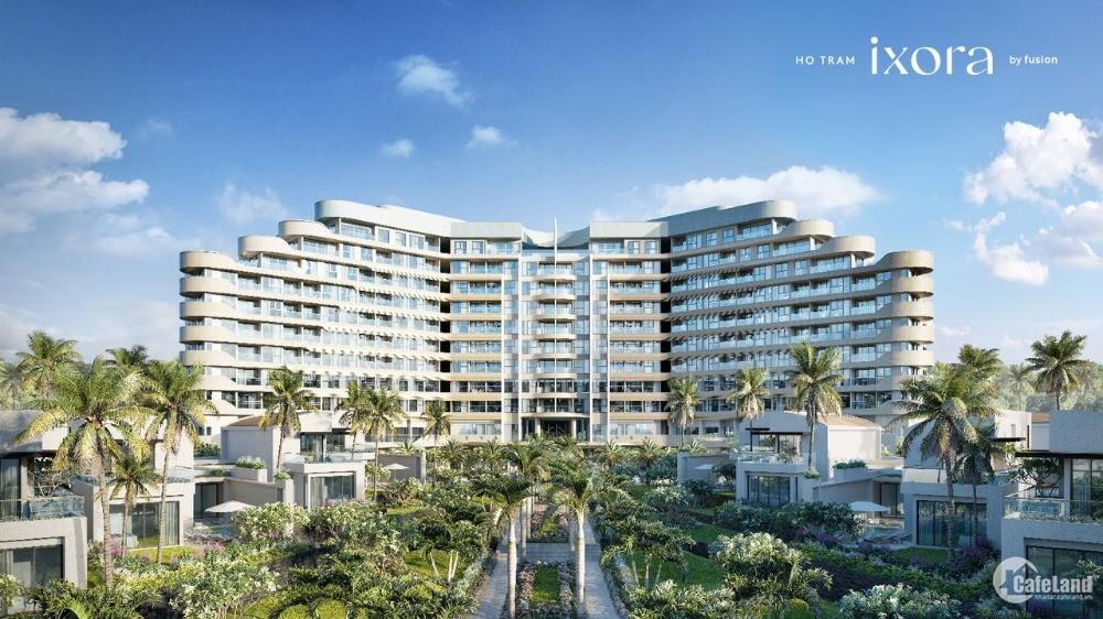 Căn hộ nghỉ dưỡng 1PN 100% view biển, có sân golf, có Casino Hồ Tràm chỉ 2,8 tỷ