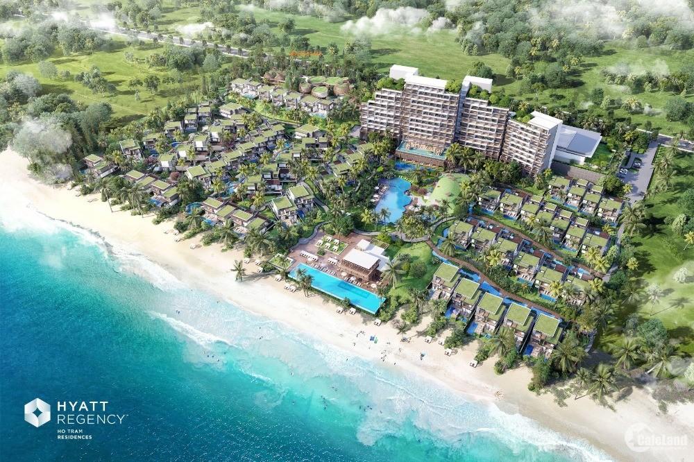 Bán biệt thự biển Hyatt Regency Hồ Tràm 2Pn suất nội bộ, 2021 chỉ tt 30%