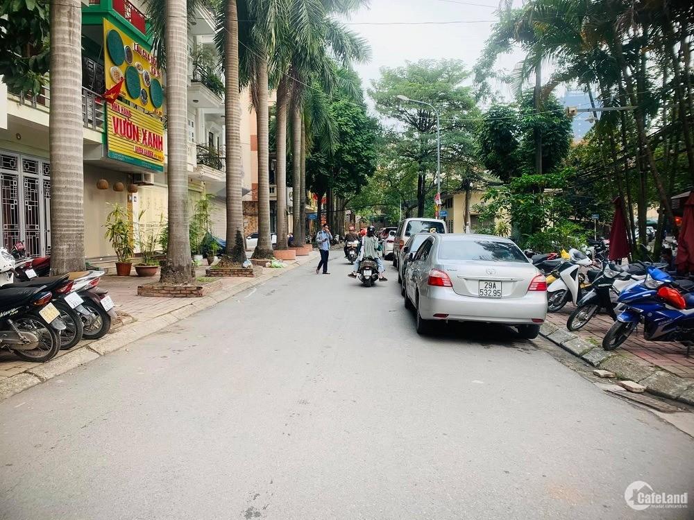 Bán nhà Đỗ Quang, Cầu Giấy. Phân lô, vỉa hè, ô tô, KD. 55m2 5T nhỉnh 13 tỷ