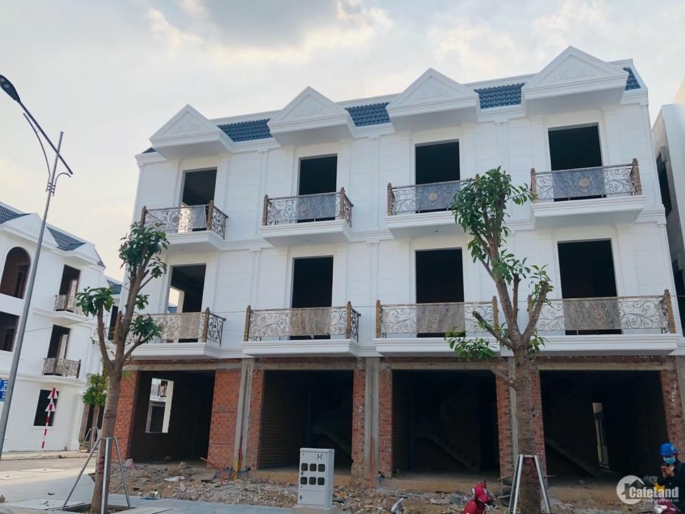 Mở bán GĐ1 nhà phố xây sẵn Đông Hưng Dĩ An đã có sổ hồng từng căn TT 8 tháng