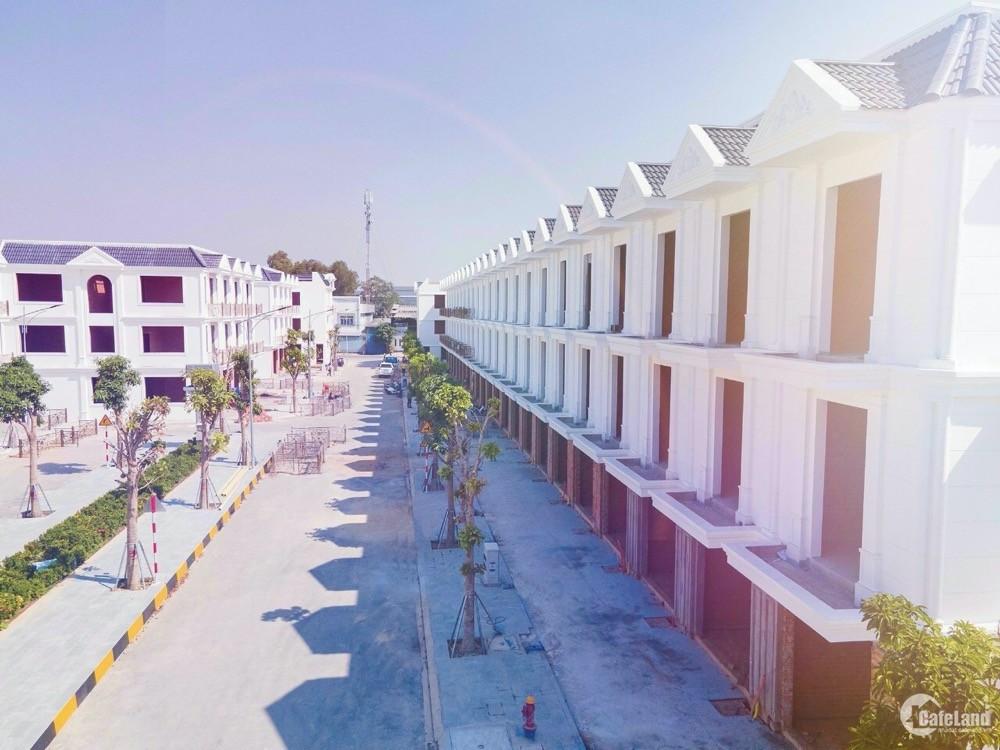 Nhà phố Cité D'amour Dĩ An giá 4.5 tỷ/căn, thanh toán công chứng nhận sổ ngay