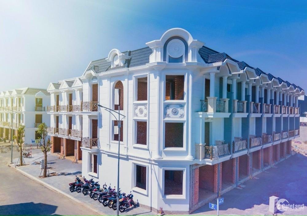 Booking chọn căn đẹp khu nhà phố cao cấp Dĩ An - Cité D'Amour giá 4.5tỷ/căn