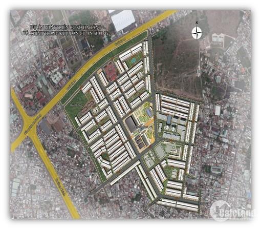 Nhà mặt tiền 5 tầng 400m2 sát Quốc lộ 1A cạnh chợ An Sương trung tâm quận 12
