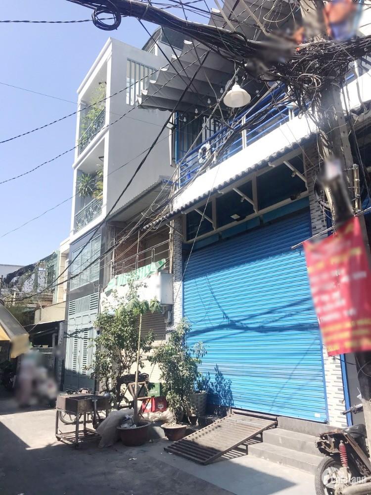 Nhà đẹp nở hậu/lầu/4pn hẻm xe tải (cafe Nhật Nguyệt) Dương Bá Trạc P1Q8