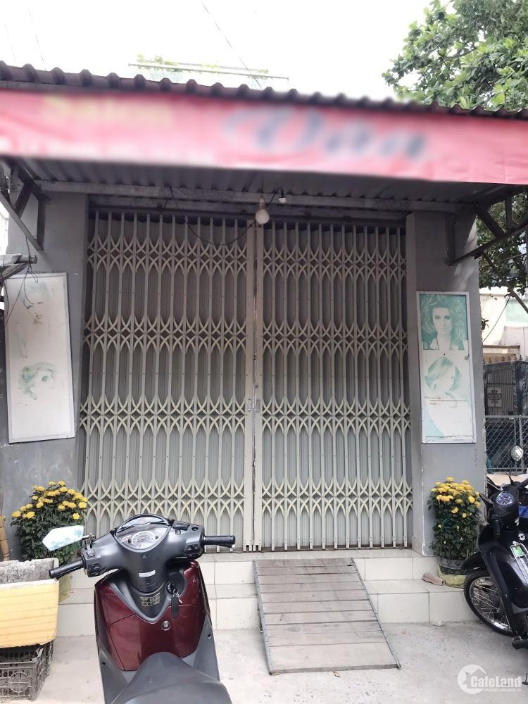Nhà cấp 4 (91m2) mặt tiền kinh doanh Tạ Quang Bửu P4 Q8