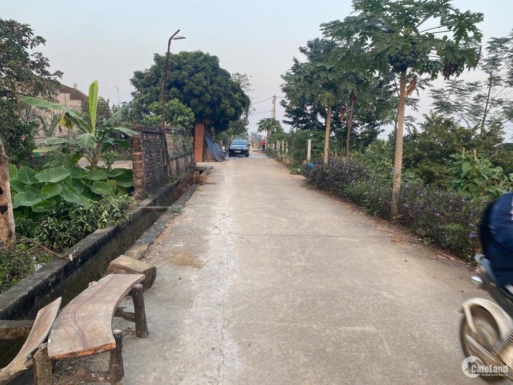 Lô đất thôn 2 Phú Cát 600m2 đường lớn 2 ô tô tránh view hồ cực đẹp giá 5.9tr/m2