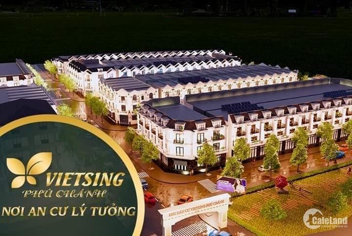 Đất ODT ngay đường 742,cổng Vsip 2, Tx Tân Uyên, Bình Dương. Giá đầu tư