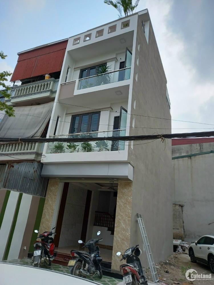 Bán nhà phố Rặng Nhãn, ph Quang Trung, TP HD 3.5 tầng, 52.7m2, 2 tỷ 190, gara