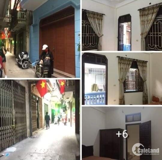 Gia đình cần bán nhà mặt ngõ phố chợ Khâm Thiên